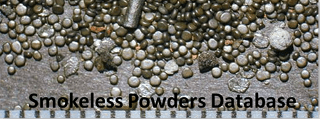 Smokeless Powders Database